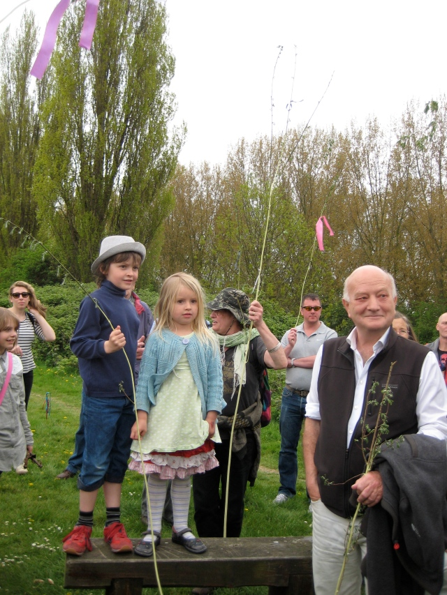 Local people enjoying Leyton Marshes on the former golf course, which the LVRPA plans to turn into a 'trailer park'