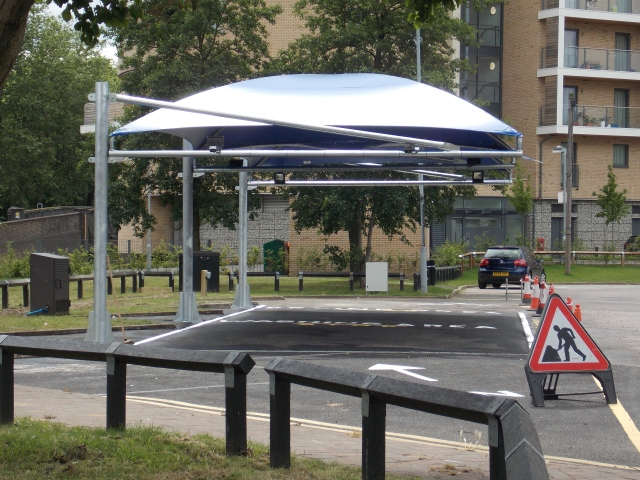 Car wash canopy